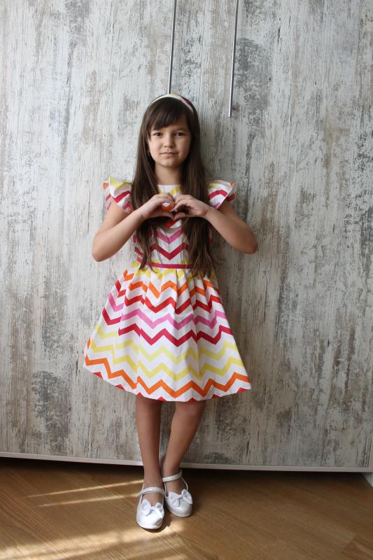 Платье на девочку № 107
