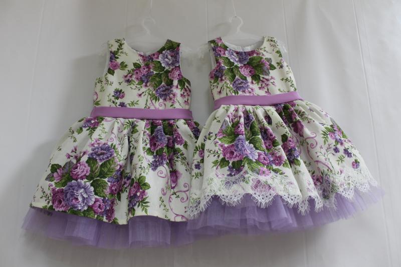 Нарядное платье на девочку  Камелия  № 80 с кружевом или без кружева