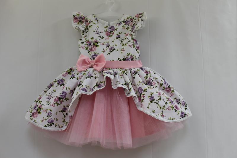 Нарядное платье на девочку № 107
