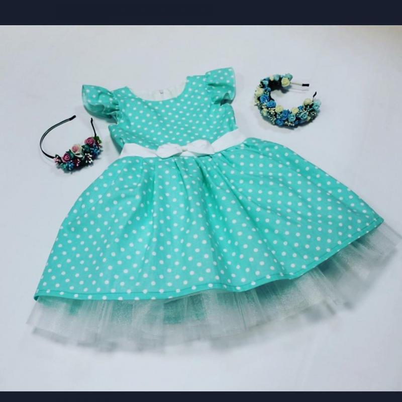 Нарядное платье на девочку № 109