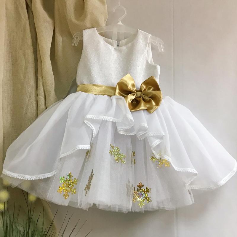 Сукня сніжинка 116