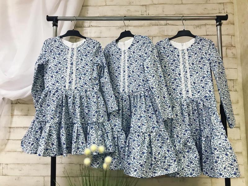 Повседневно- нарядное платье на девочку 103