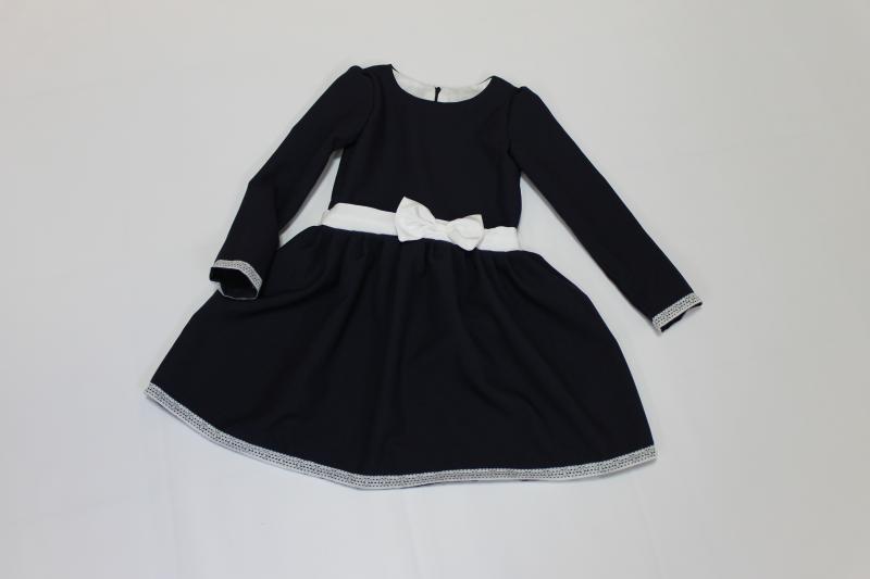 повседневно - нарядное школьное платье