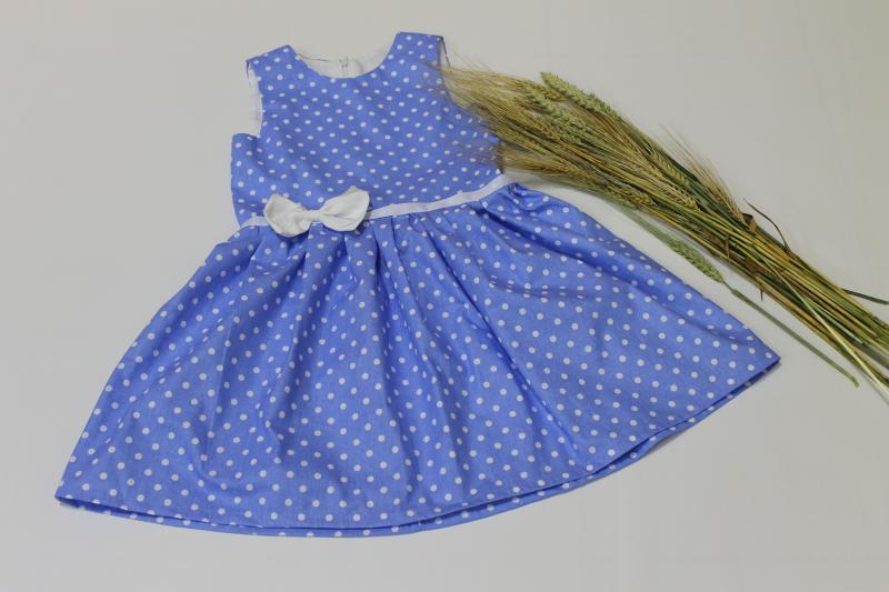 Летнее платье на девочку № 113