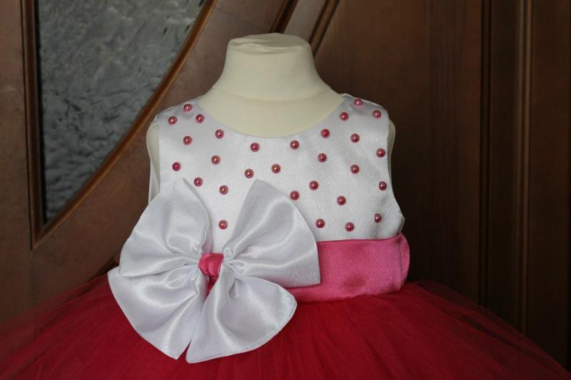 Нарядное платье  Малиновая Минелла