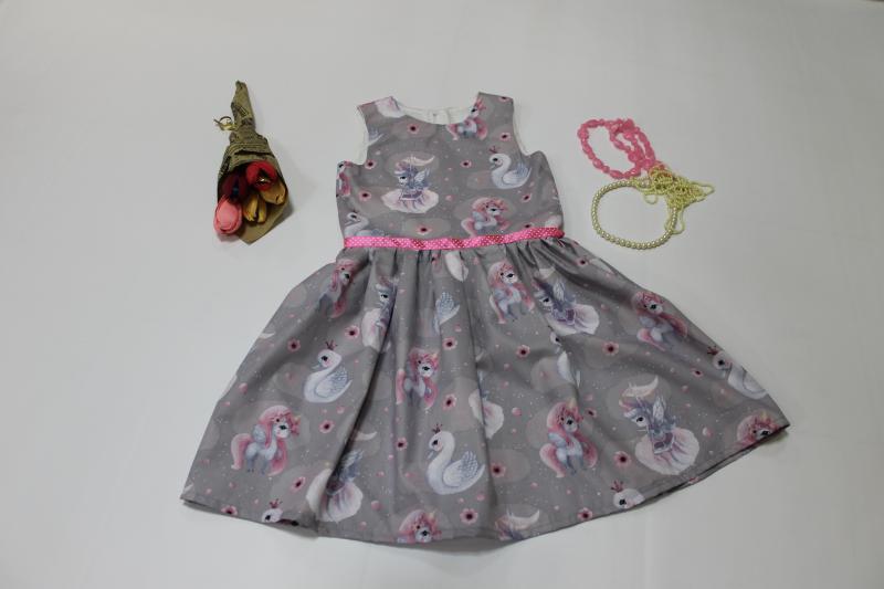 Летнее платье на девочку №103
