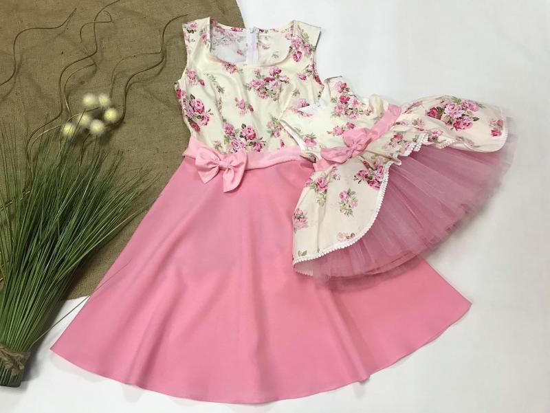 Сукні на маму та донечку
