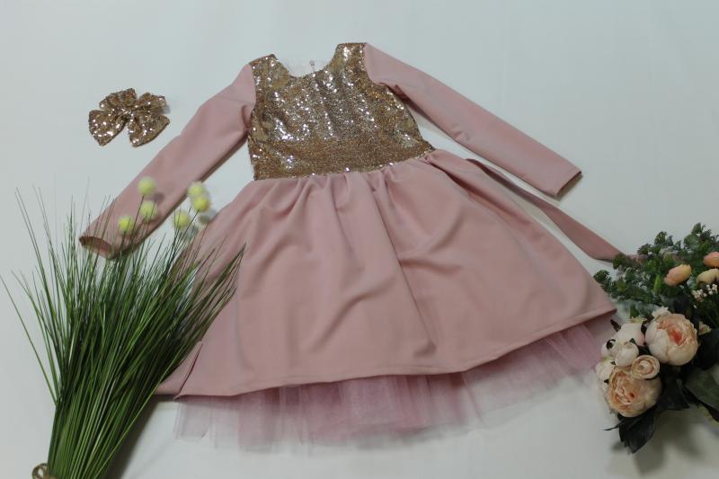Повсеневно - нарядное платье с фатином