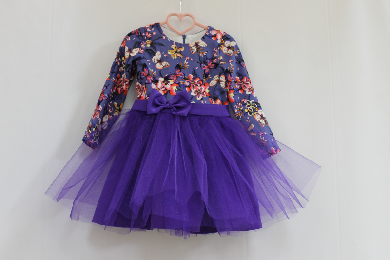 Нарядное платье на девочку № 44