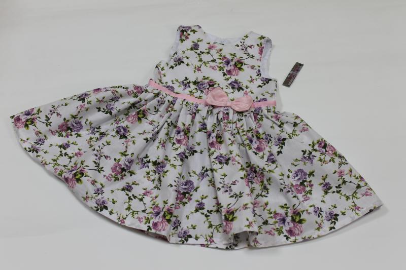 Летнее платье на девочку  Цветочное настроение
